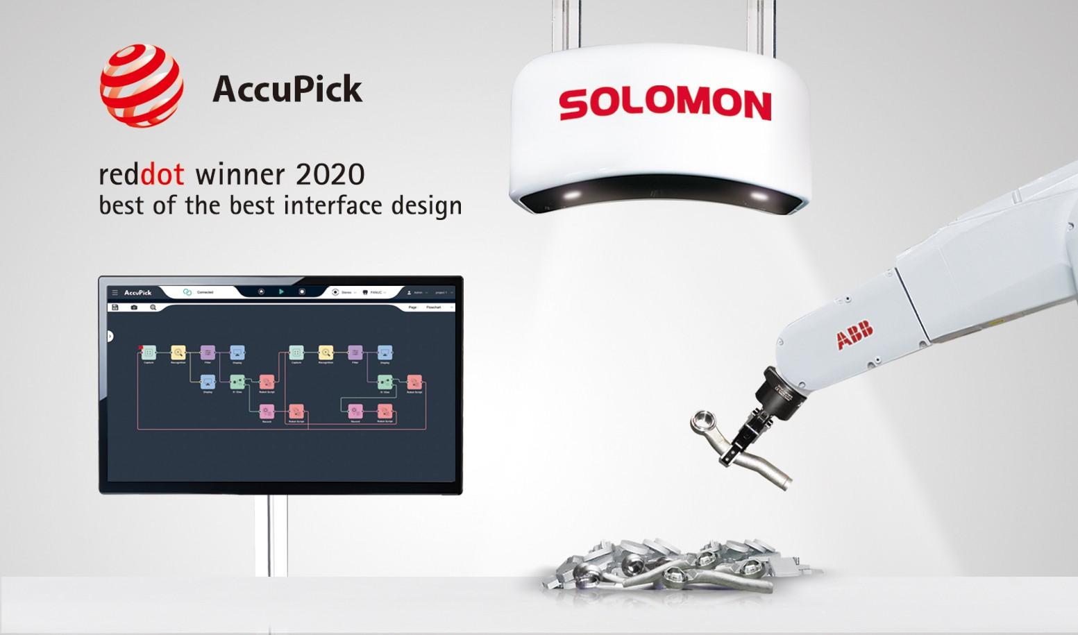 SOLOMON 3D -Reddot 2020_Accupick