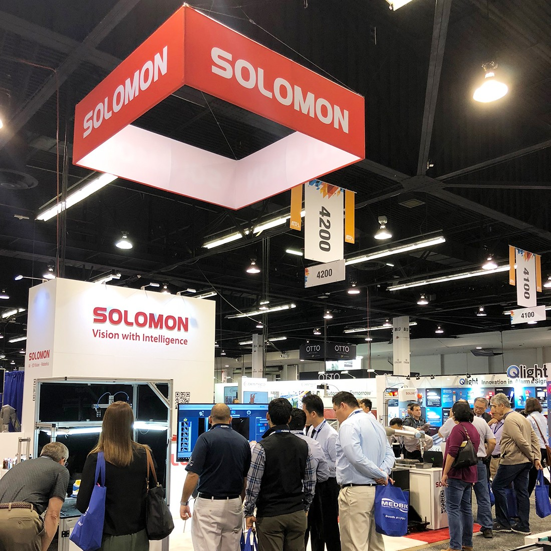 Solomon Technology Showcased Intelligent Vision Solutions