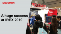 A huge success at iREX 2019