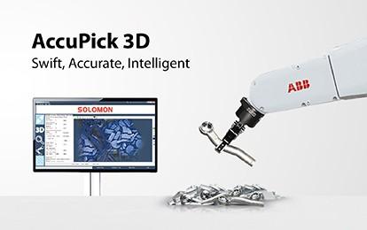SOLOMON 3D -AccuPick 3D Bin picking