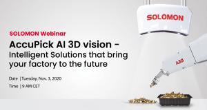 FREE webinar AccuPick AI 3D Vision