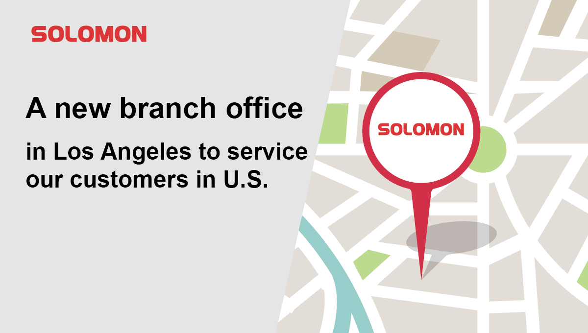 A new SOLOMON office in LA to service our customers in us