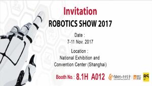 SOLOMON To Exhibit At Robotics Show 2017 (Shanghai)