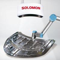 SOLOMON 3D BIn Picking web -AI vision- Vision Guided Robot