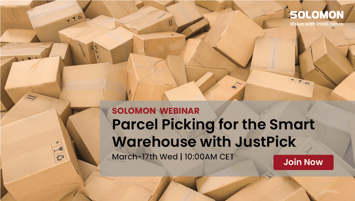 Parcel Picking for the Smart Warehouse with JustPick