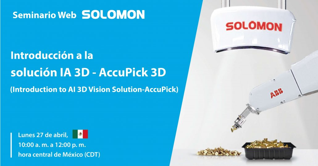 Introducción a la solución IA 3D – AccuPick 3D