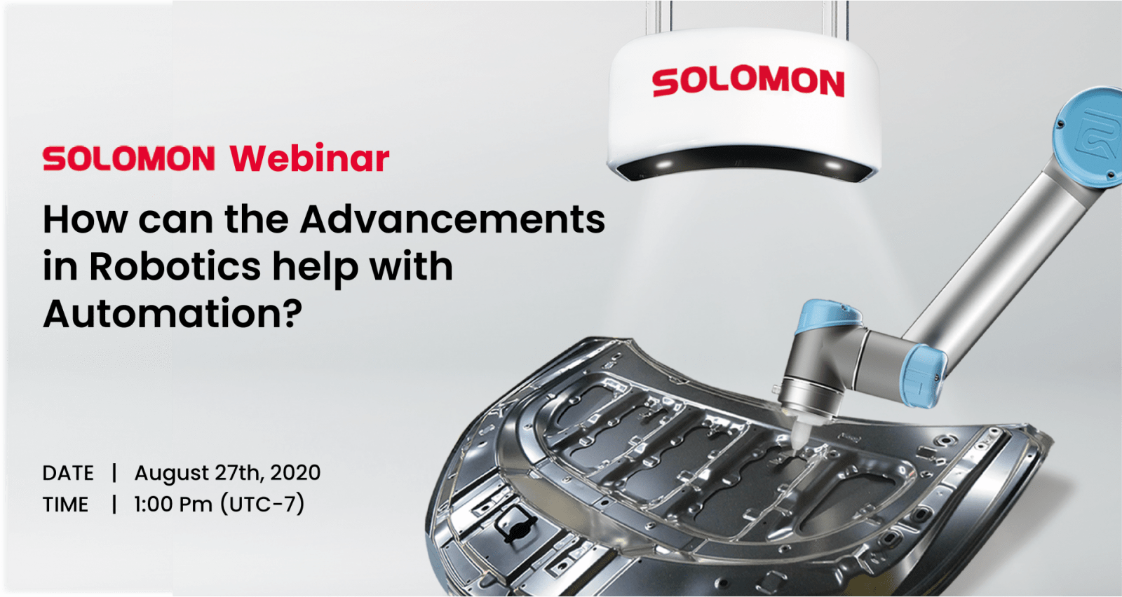 How can the Advancements in Robotics help with Automation? Introducing AI 3D Vision Solution – Solmotion (Vision Guided Robot – VGR )